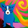 NOLA blue dog