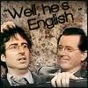 John Oliver and Stephen Colbert