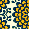 (default) navy and yellow