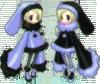 blue twins