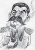 Сталин карикатура