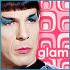 Spock is glam