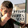 T.: Jensen wants YOU