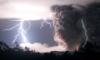 volcano & lightning