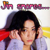 a fraction: kame // jin snores 8D