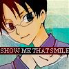 Watanuki Kimihiro: smile