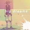 большие мечты Луффи