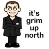 ?: Nine -Grim up North cartoon
