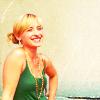 clarkoholic: SV: Chloe (green tank smile)