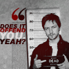 person | mcavoy; does it offend you yeah