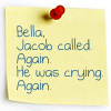 julie: Jacob's crying again