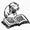 хомса с книжкой