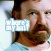 Where's Bobby's hat?