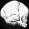 baby skull drawing