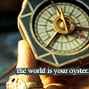 Captain Jack Sparrow: compass; hopeful