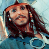 Captain Jack Sparrow: smile; i like you mate; well done