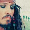 Captain Jack Sparrow: sadness; melancholy