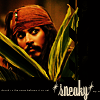 Captain Jack Sparrow: parlay?; who me?; i'm not here really
