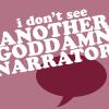 KKBB - goddamn narrator