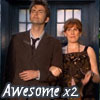 Donna_L: Ten and Donna Awesome x 2