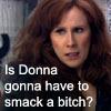 Donna smacks