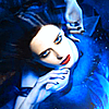 edanna: Eva Green in blue