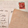 letters - red stamp