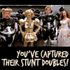 Spaceballs: stunt doubles