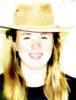 в ковбойской шляпе
