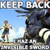 FF // invisible sword