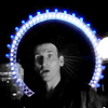 kePPy: Dr Who: Nine b&w + blue London Eye