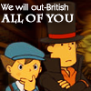 Magic Kaito: Layton & Luke- Out-British