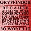 Sivaroobini: Gryffindor