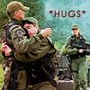 somethinksfishy: JackFelger HUGS