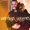 angelnetgirl: Nine/Rose hug