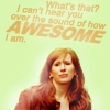 Worrals: Donna - gloriously.