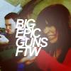 "DOCTOR WHO // Gwen Ianto ""Big Epic Guns"""