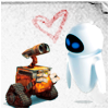 Wall-E & Eve - Heart.