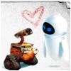 Wall-E & Eve - Heart.
