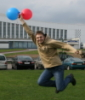 Улетая на шариках