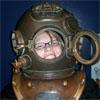 head, scuba, gear, iron