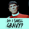 ST os spock do i smell gravy