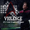 ST voy janeway violence is the st way