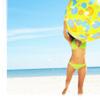 stock -- vacation - beachball