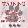 Random- Puppy Warning