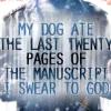 Lilifae: dog ate manuscript