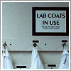 lab coats in use