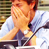 "James ""Jim"" Halpert: laughing"