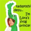 my frog prince..