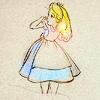 Clare_ Bear: Alice// Oh mr rabbit